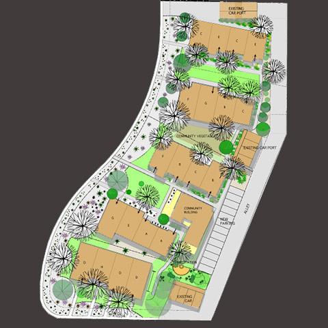 Strell design for Compound garden designs
